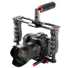 Neewer Film Making Camera Video Cage Kit Top Handle Grip Shoe Mount Shoe Mount