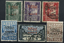 Italian Somaliland 1923 SG#48-53 Fascist March On Rome Used Set #A92202