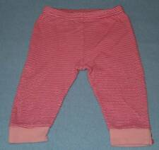 Sprout Cute Girls Pink Striped Leggings, Size 00 (3-6 Months)