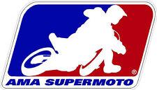 #591 AMA Supermoto sponsor decal racebike race bike CBR GSXR CB LAMINATED!