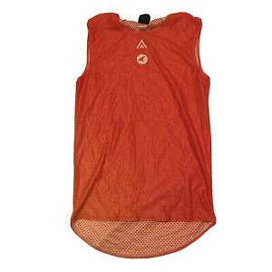 New 2020 Pactimo Rally Pro Cycling SL Mesh Base Layer, Orange, Size Small