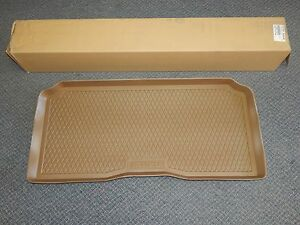 New OEM 2002-2009 Isuzu Ascender Rear Cargo Tray Floor Mat Oak Brown Chevy GMC