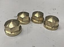 SOLID BRASS HEX HEAD BOLT COVERS harley cylinder HD 85 - up chopper bobber 2024