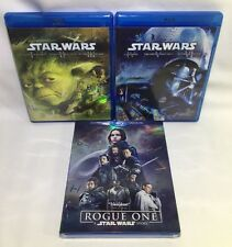 Star Wars- Rogue One BR-DVD-Dig Copy & Complete Saga EP 1-6 Blu Ray (6 Discs)