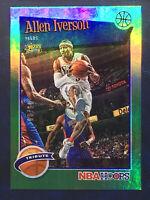 2019-20 NBA HOOPS Tribute ALLEN IVERSON #d/99 SSP Near Mint +