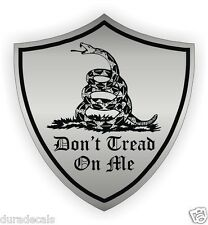 Gadsden Flag Dont Tread On Me Hard Hat Sticker / Decal Label USMC Motorcycle USA