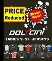 CLEARANCE NEW Doltcini Ladies Short Sleeved Cycling Jersey- UK STOCK