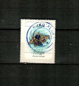 TONGA Scott's 570 ( 1v ) Fish F/VF Used ( 1984 ) #2