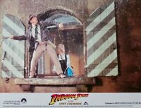 "ORIGINAL 1989 LOBBY CARD 10"" x 8"" - 'INDIANA JONES & THE LAST CRUSADE' - FORD"