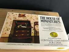 X-Acto House Of Miniatures #40017 Chippendale Desk Circa 1750-1790 NEW UNSEALED