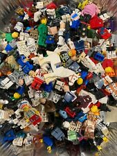 Lego Minifigure Lot DAMAGED parts 1lb Star Wars Super Hero Read Description