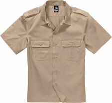 Brandit EEUU Camisa Bundeswehr Army Militar Manga Corta BW Basic Camiseta Polo