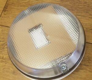 Fern Howard 16watt 2D Bulkhead Light Fitting White/Black