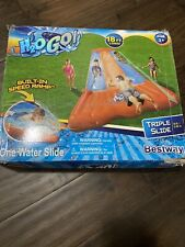 H2OGO! 18' Triple Lane Water Slide with Ramp - Bestway