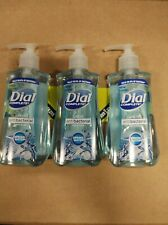 3 Dial Complete SPRING WATER Liquid Hand Soap Wash Pump 7.5 oz ea KILLS 99%