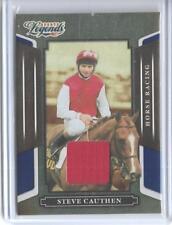 2008 DONRUSS LEGENDS STEVE CAUTHEN RELIC CARD #106 ~ /100  JOCKEY ~ HORSE RACING