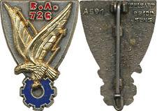 Base Ecole, sigle B.A. 726, NIMES, aigle relief, 2 pièces, Delsart A591, (1445)