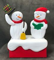 2018 Hallmark Christmas Snow Many Memories Caroling Snowmen Music & Motion #1