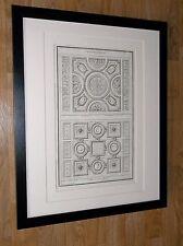 """Antico LATINO INCISIONE Wall Art -20"""" x16"""", INCORNICIATO INCISIONE Wall Art"""