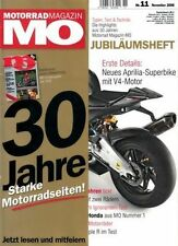 MO0811 + HARLEY Road King vs SUZUKI M 1800 R vs TRIUMPH Rocket III + MO 11/2008