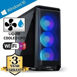 CCL Z370 Gaming PC - Watercooled 4.8GHz Intel i7 10700F, 16GB, SSD, RTX 3070 Ti