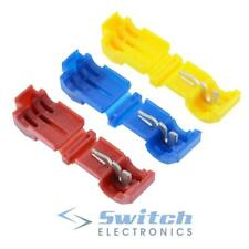 Red Blue Yellow T Tap Wire Splice Connector Terminal