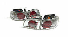 Honda Civic EG6 EG Berline 3Dr LEXUS STYLE Clear Rear Tail Lights Lampes Y3286