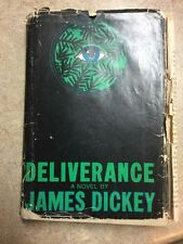 Deliverance A Novel By James Dickey (1970, Hardcover)