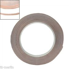 R22 - 2m Kupferband 5 mm selbstklebend Abschirmband Kupferfolie