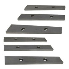 6 Pc Precision Thin Angle Block 12 To 5 Degree Set For Vise Angle Gauge Measure