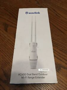 Wavlink AC600 2.4G/5G High Power Outdoor Waterproof WIFI Repeater 2 Antennas