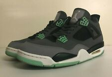 "Air Jordan 4 IV ""Green Glow"" Men's Size 13 308497-033 NO BOX"