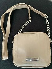 SALE Steve Madden Purse: Grey Beaded 6.5x5.5x2in Clutch w/ partial chained strap