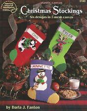 Christmas Stockings Plastic Canvas Patterns