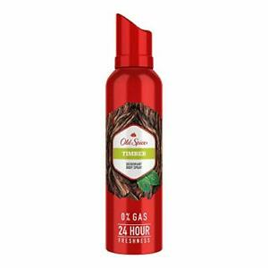 Old Spice Timber  Deodorant Body Spray Perfume, 140 ml Free Shipping Worldwide