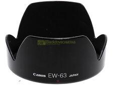 Canon EW-63 paraluce originale per EF 28/105mm. f3,5-4,5. ES63 x 28-105