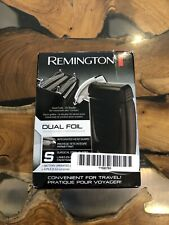 Remington TF70 Battery-Operated Dual Foil Travel Shaver, Men's Electric Razor