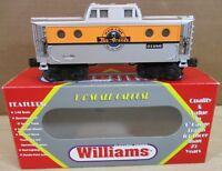 """Williams Train Railroad N5C Porthole Caboose """"Rio Grande"""" O Scale Gauge O-27 NEW"""