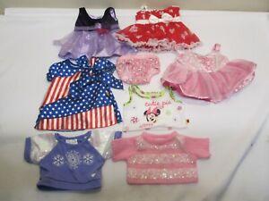 Build-a-Bear Fancy doll cloths dress & Top LOT  16 18 INCH