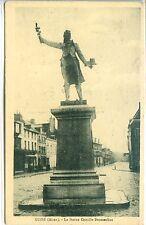 CP 02 Aisne - Guise - La Statue Camille Desmoulins