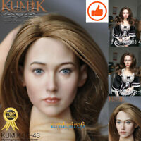 "1/6 Scale Female long hair Head Sculpt For 12"" TBLeague PHICEN Hot Toys Figure*"