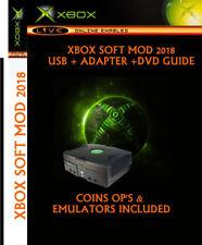 Original Xbox Soft Mod Kit 2018 (PAL) updated dashboard