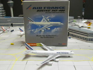 "HERPA WINGS/Star Jets 'AIR FRANCE"" Boeing 747-400; 1:500; Excellent Condition"