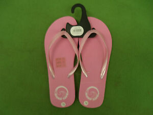 LADIES GIRLS Pink Flip Flop Size 7/8