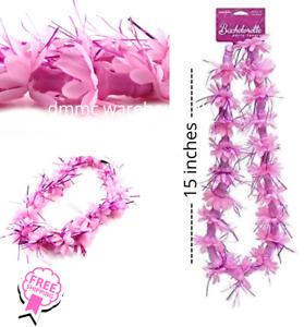 Pecker Lei Necklace Bachelorette Party Favors Girls Hen GNO Pink