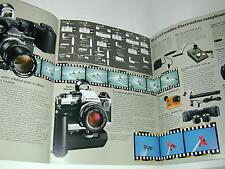 OLYMPUS  OM système MOTEUR  catalogue publicitaire  photo photographie
