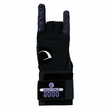 Ebonite Mag Force 9000 Bowling Glove/Wrist Support RIGHT HANDED MEDIUM