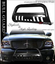 FOR 2002-2009 DODGE RAM BLACK HD STEEL BULL BAR BRUSH PUSH BUMPER GRILL GRILLE