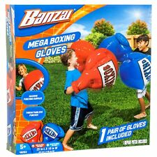 BANZAI Kids Inflatable MEGA BOXING GLOVES Garden Toy Playset