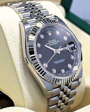 Rolex Datejust II 126334 Oyster Steel & 18k White Gold Bezel 41mm Rhodium Grey